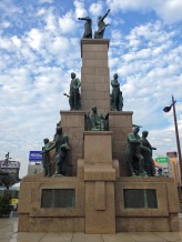 Satsuma Students Statue, Kagoshima City